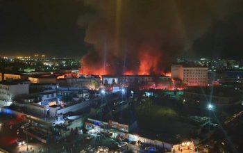 خیرخواه مارکیت در آتش سوخت