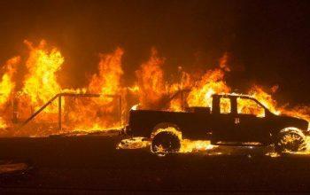 آتش سوزی در امریکا جان 9 نفر را گرفت