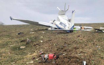سقوط هواپیما در امریکا جان 4 تن را گرفت