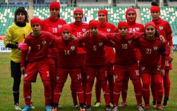 دومین شکست بانوان فوتبال افغانستان با شش گول