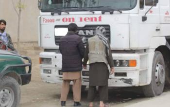 بازداشت دو سارق تانکرهای تیل در بغلان
