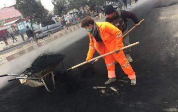 راه اندازی کمپاین پاک سازی شهر کابل از سوی معترضان