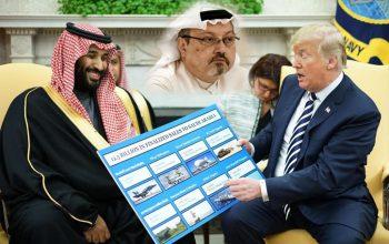 خرید و فروش اسلحه با عربستان، مهمتر از قتل خاشقچی