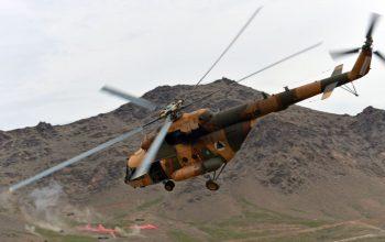 در سقوط هلیکوپتر اردوی ملی در قندهار، دو تن جان باخت