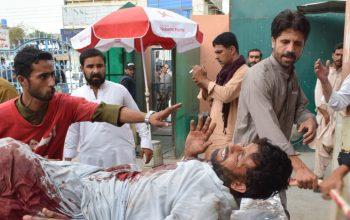 انفجار در یک مسجد در پاکستان ده زخمی برجا گذاشت