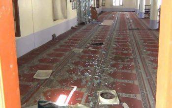 انفجار در مسجد اردوی ملی خوست، انتحاری بود
