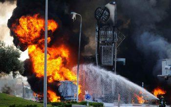 انفجاری در چین بیش از 40 کشته و زخمی برجا گذاشت