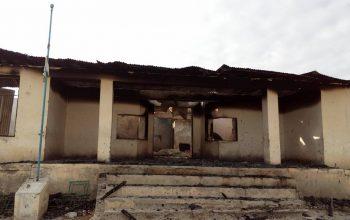 یک مکتب دخترانه در پکتیکا در آتش نابود شد