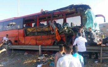 35 کشته و زخمی در یک حادثه ترافیکی در ایران