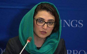 یک زن، نماینده دائمی افغانستان در سازمان ملل