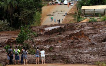 تلاش های بی نتیجه برای جستجوی 276 مفقود شده شکستن بند آب در برازیل