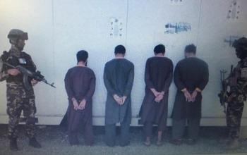 گروپ چهار نفری آدم ربایان در کابل بازداشت شد