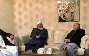 وعده همکاری مولوی سراج الحق برای صلح افغانستان