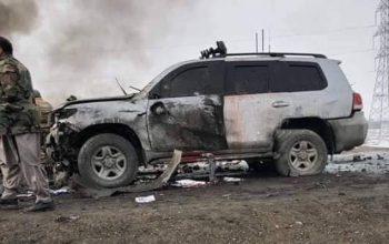 هشت کشته در انتحاری بر کاروان والی لوگر