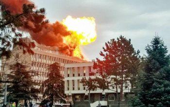 انفجار نیرومند در دانشگاه شهر لیون فرانسه