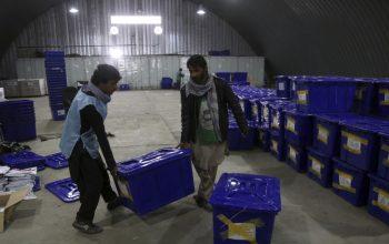 اعلام نتایج ابتدایی انتخابات کابل؟!