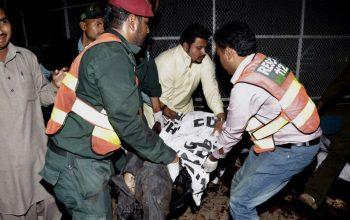 حمله بر یک مرکز آموزشی نظامیان پاکستانی