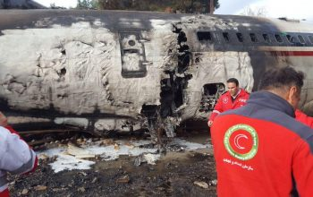 سقوط یک هواپیما در ایران