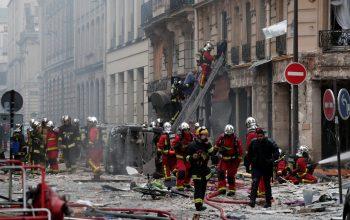 ده زخمی در انفجار پاریس