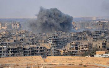 جنگنده های امریکایی جان 8 کودک و زن سوری را گرفت