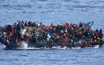 غرق شدن 2200 پناهجوی عازم اروپا در سال 2018