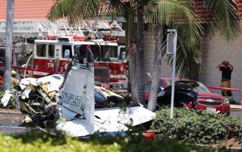 کشته شدن 5 تن در نتیجه سقوط هواپیما در امریکا