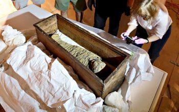 مومیایی کودک 2000 ساله از امریکا گرفته شد