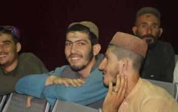 رهایی 7 غیر نظامی از زندان طالبان در هلمند