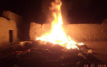 چهار کارخانه تولید مواد مخدر در ننگرهار نابود شد
