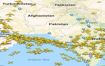 مسدود بودن فضای پاکستان به روی پروازهای افغانستان تمدید شد