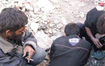 خودکشی دسته جمعی معتادان در ایران