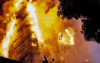 آتش سوزی در محل سکونت مهاجران افغان در ترکیه