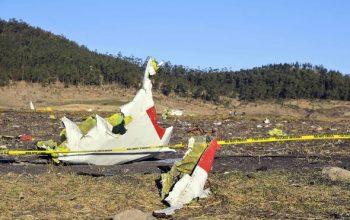 کشته شدن 157 سرنشین هواپیمای اتیوپی