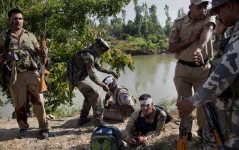 درگیری ها در کشمیر هند جان 4 تن را گرفت