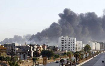 حملات مرگبار بر پایتخت لیبی