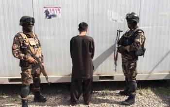 سردسته یک گروه اختطافگر در هرات بازداشت شد