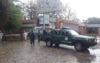 انفجار بر موتر رنجر پولیس در جلال آباد