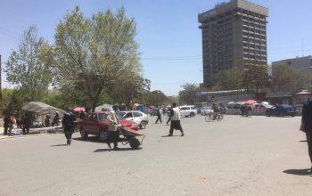 سه مهاجم به وزارت مخابرات حمله کردند