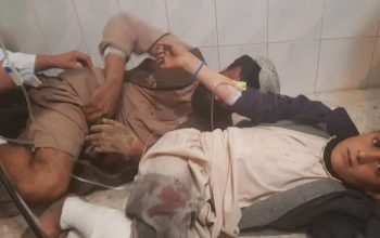 12 تن در انفجار هلمند زخمی شدند