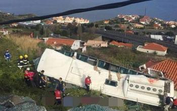 سقوط بس در پرتگال، 28 کشته برجا گذاشت