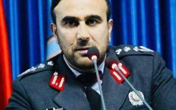 فرمانده جدید پولیس بلخ تعیین شد