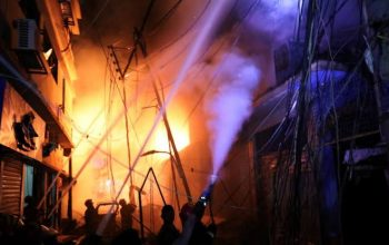 کم سابقه ترین آتشسوزی در تاریخ کوریای جنوبی