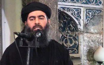 امریکا برای دستگیری البغدادی 25 میلیون دالر جایزه میدهد