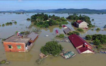 سیلاب ها در چین منجر به جان باختن ده تن شد