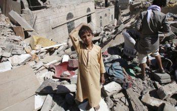 قربانیان حمله عربستان به پایتخت یمن به 13 کشته و 90 زخمی رسید