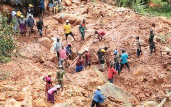 سیلاب و رانش زمین در آفریقا جان 60 تن را گرفت