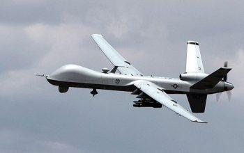 حمله طیاره های بی سرنشین یمن به تسلیحات نجران عربستان