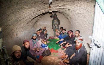 یک زندان طالبان در زابل نابود شد