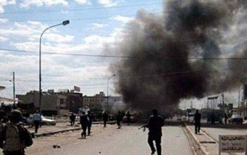 اصابت موشک به نزدیکی سفارت امریکا در عراق