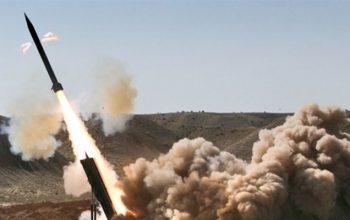 حمله موشکی ارتش یمن به مواضع عربستان